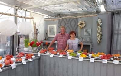 Schön war's: Tomatenverkostung am 23.08.19